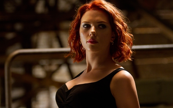 scarlett johansson black widow hot hot hot, beautiful in The Avengers