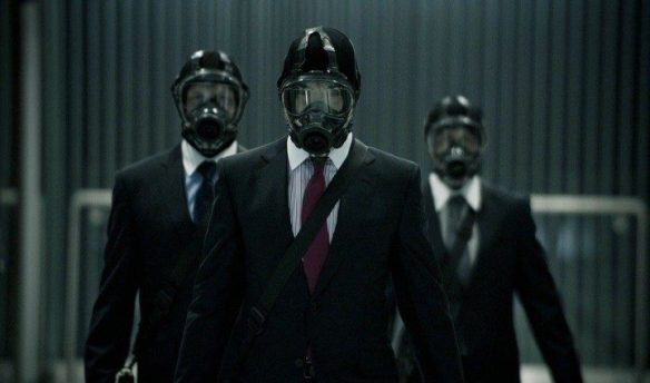 This seasons newest fashion, gas masks, Gucci and guns. Welcome to the Punch style.