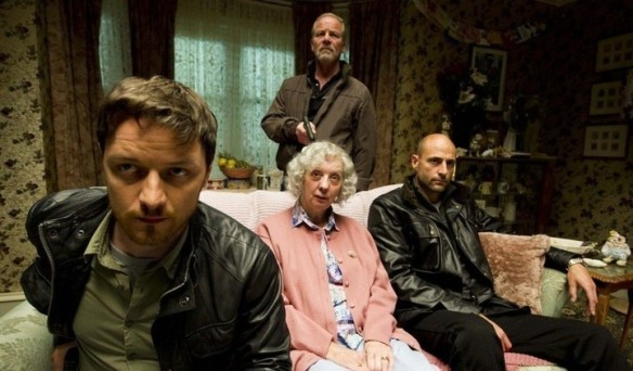 Mum doesn't like all the lads milling about her living room with guns and snarly voices.