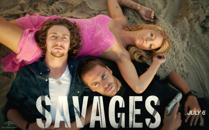 Savages: Don't ruin my buzz with a half baked reality dude.