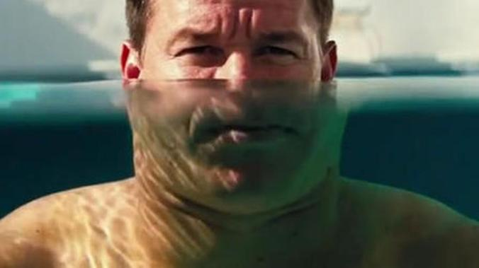 Pain and Gain, Mark Wahlberg is almost in over his head.