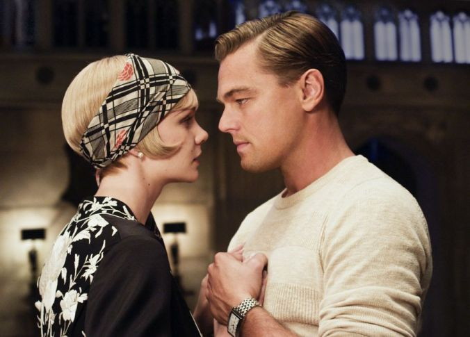 gatsby- love passes them by, not a single spark for so much money