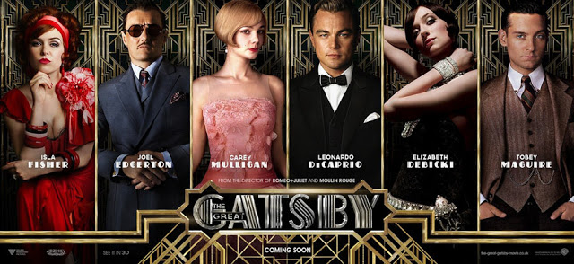 Great Gatsby moldy crew of rich and spoiled, like actors paid too much for too little.