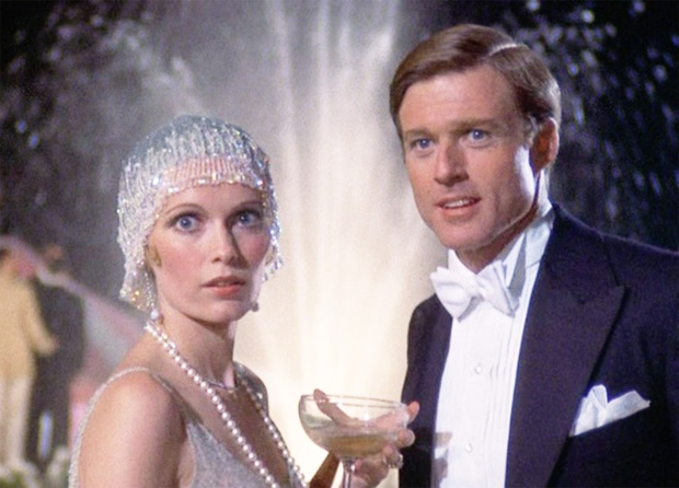 The-Great-Gatsby-9_1974 robert redford and mia farrrow, adults at work