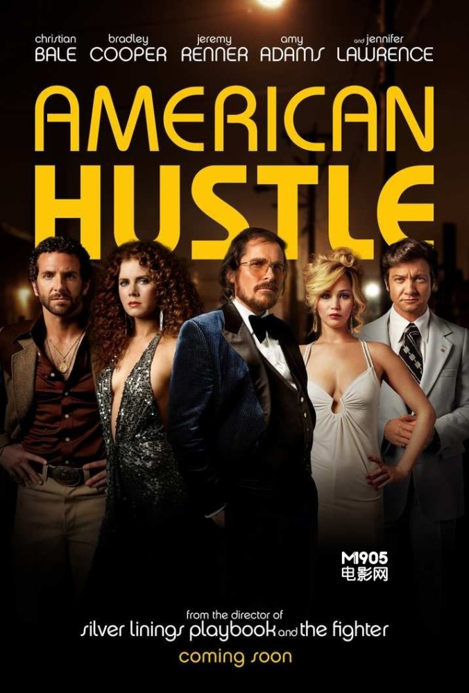 American Hustle glam crew sexy hot intelligent and real.