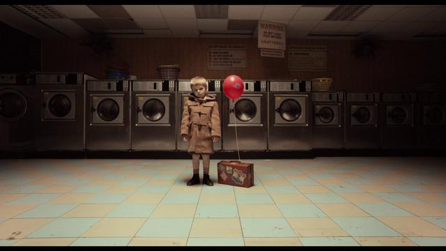 Jack abandoned as a child in a past launderette