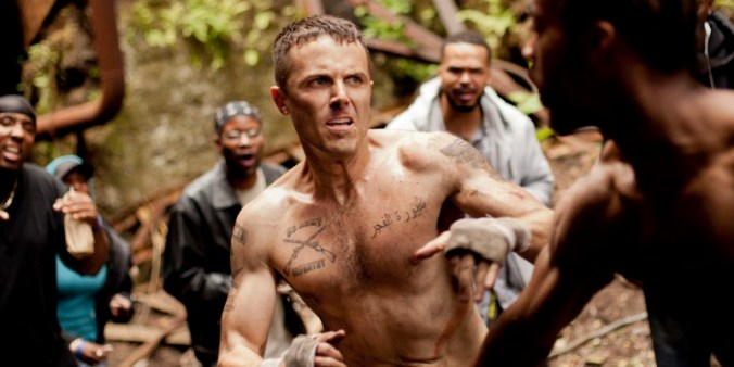 Affleck fights it out bare knuckled in OUT OF THE FURNACE.