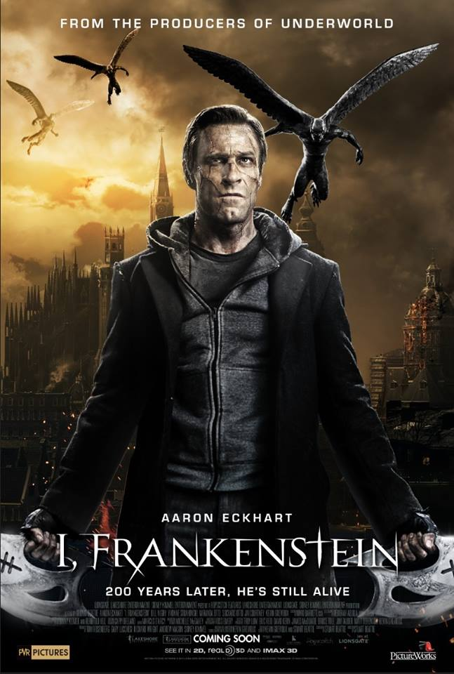 I, Frankenstein. The worse movie ever made? Why Aaron? WHY?