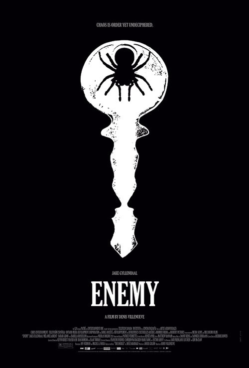 Enemy, starring Jake. The key to your mind is inside. or the key to sex clubs, your choice.