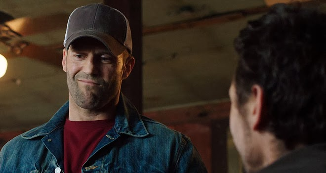 Statham winces through the pain for HomeFront