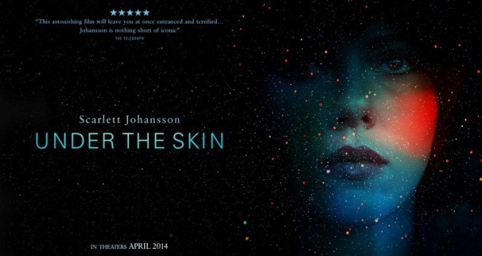 Johansson goes to the edge as an alien lost in human flesh