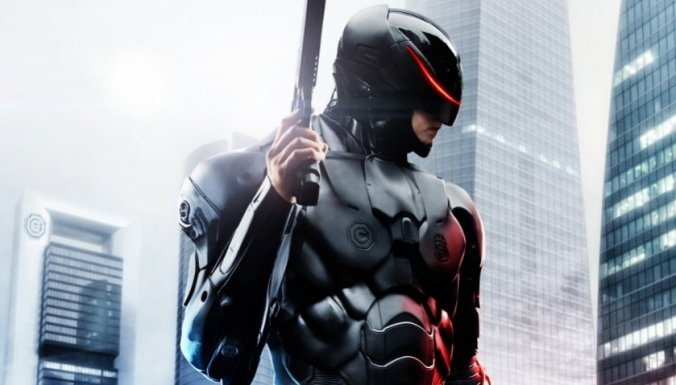 Is this Batman? is it boring? Yes, it's the bad robocop, close your eyes.